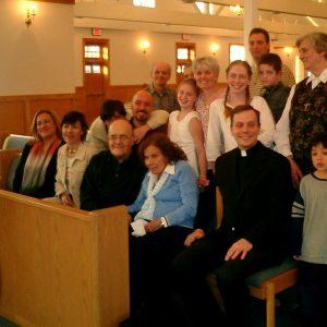 Esposos Bianchini, familia Bianchini, Her. Margaret Sims, Oratorio de Betania II, MA, EE.UU. (25-03-2004)