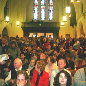 Última misión apostólica pública de la sierva de Dios María Esperanza, Igl. Saint Ann, Newark, NJ, EE.UU. (04-04-2004)