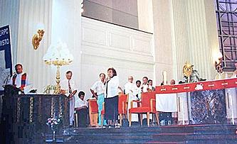Discurso de la Sierva de Dios María Esperanza, Igl.esia Nuestra Señora de Guadalupe, Montreal, Quebec, Canadá