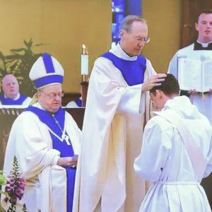 Ordenación sacerdotal del diácono Peter Gallagher