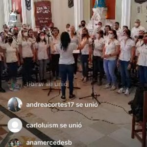 Otro hermoso compartir en el Santuario N.S. de La Candelaria - Dr. José Gregorio Hernández
